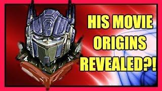 Transformers The Last Knight - Origins of Optimus Prime (Movie Universe)