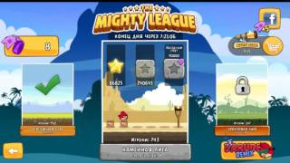 Angry Birds The Mighty League Stone league Let