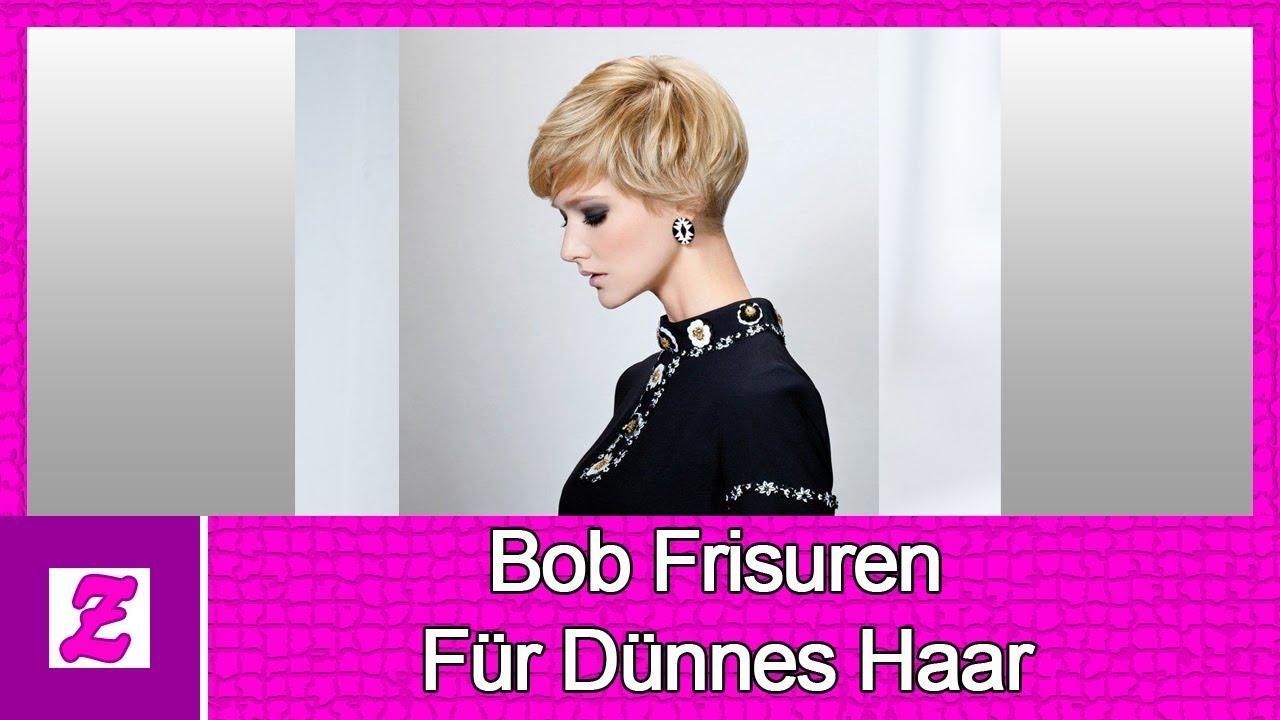 Bob Frisuren Für Dünnes Haar 2018 Youtube