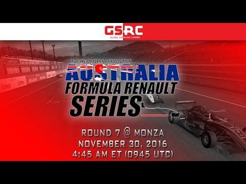 IDA Australia Formula Renault Series - 2016 Round 7 - Monza