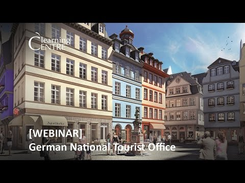 Webinar: German National Tourist Office presents Frankfurt & Thuringia