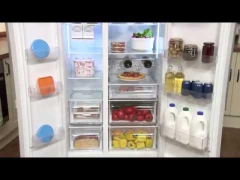 Beko American Fridge Freezer ASL141W Review | ao.com