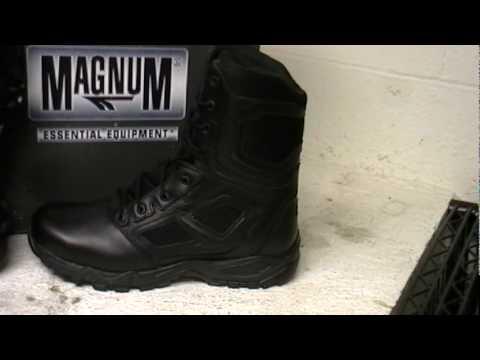 Magnum 5519 Elite Spider Tactical Police Boot Videompg