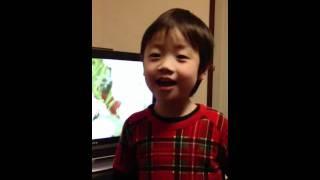 CMで話題の消臭力の歌を4歳の息子が熱唱してます(*☻-☻*) 面白いので見て...