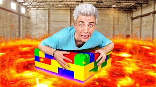 EXTREME FLOOR IS LAVA CHALLENGE part 4