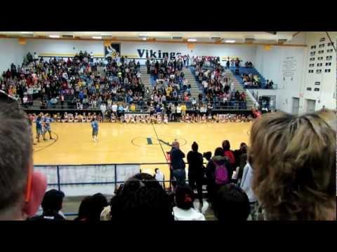Lamar High School Thor Corps Martin Pep Rally- 10/26/12 (Class of 2013)