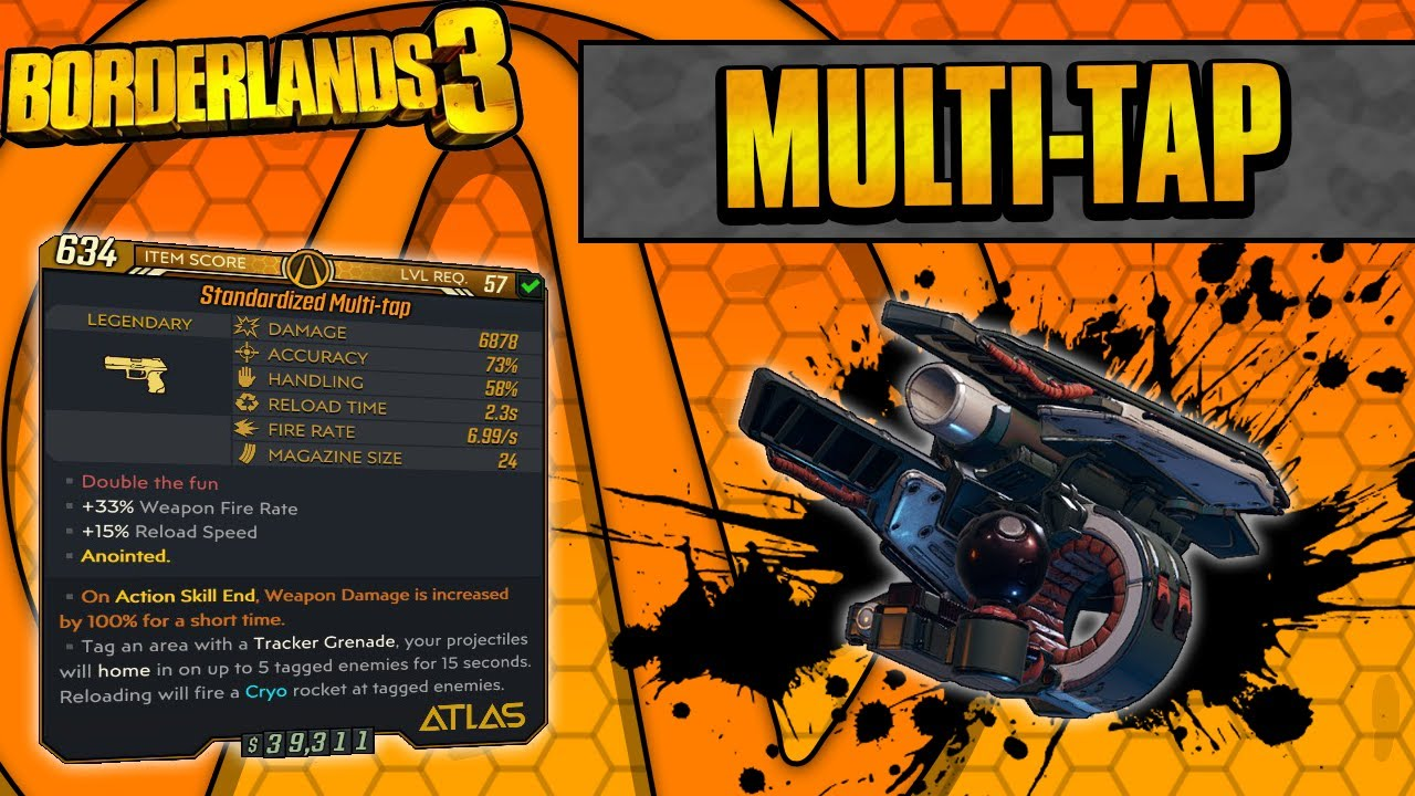 Borderlands 3 | Multi-Tap Legendary Weapon Guide (Cryo Rockets + Hidden Effect!) thumbnail