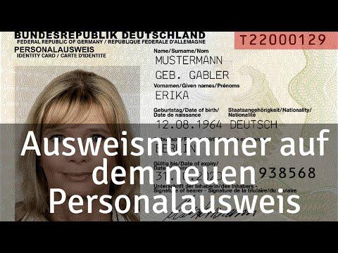 Deutsche Ausweis hat Überwachung sistem, from YouTube · Duration:  4 minutes 6 seconds