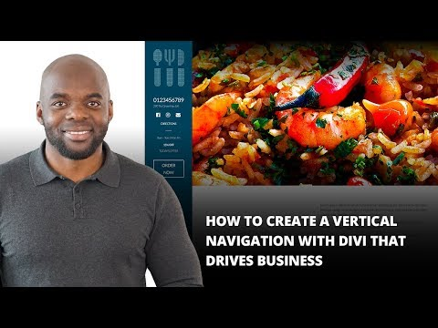 How to Create a Vertical Navigation with Divi that Drives Business