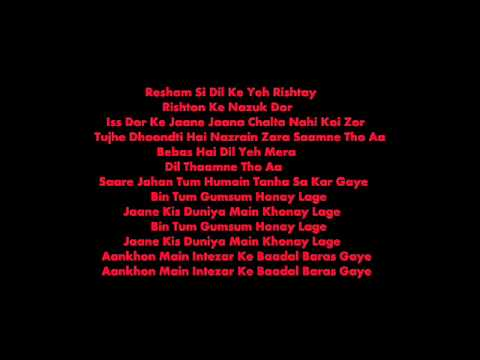 Bin Tum - Dus Kahaniyan [ Lyrics ].wmv
