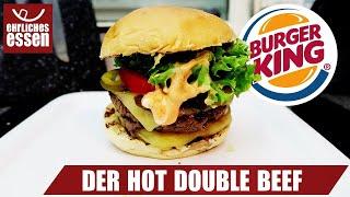 REZEPT: HOT DOUBLE BEEF VON BURGER KING - schnell & einfach selber machen!