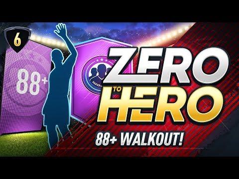 MY LUCKIEST PACK? FIFA 18 ZERO TO HERO