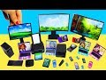 Make a Miniature TV, Computer, Printer, Iphone, Ipad, Cellphone, Laptop, Camera, Calculator, Printer
