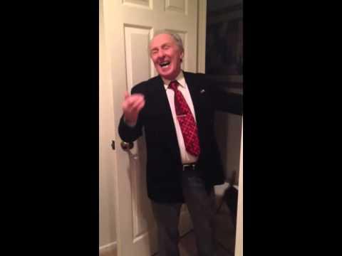 Hilarious Happy Birthday Song By My Italian Grandpa!