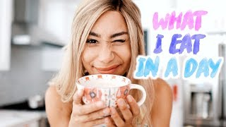 What I Eat In A Day Being Vegan! 🌈🌻 | MyLifeAsEva