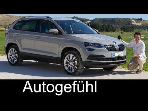 Skoda Karoq FULL REVIEW test 1.5 TSI Style all-new SUV neu - Autogefühl