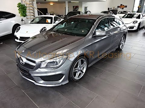 mercedes benz cla 180 shooting brake amg line youtube. Black Bedroom Furniture Sets. Home Design Ideas