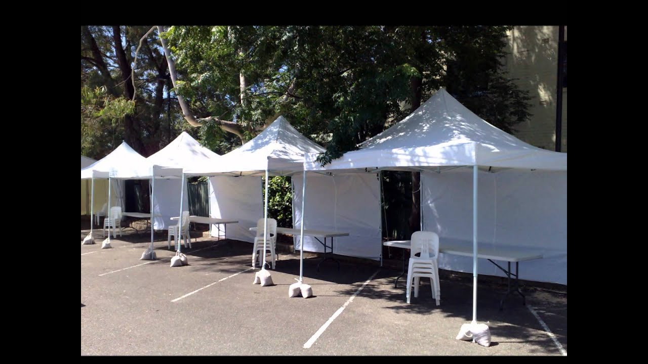 & Small Marquee Hire :: Gazebo hire u0026 Party tents - YouTube
