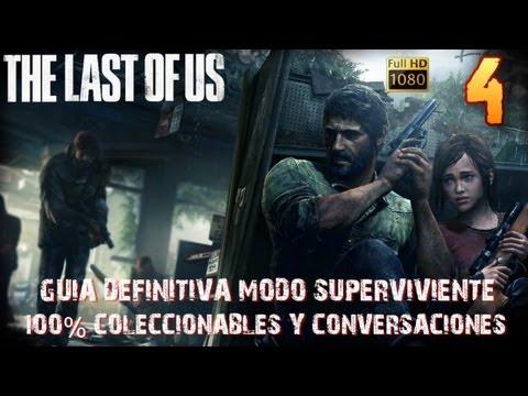 The last of us-Capítulo 4 Pittsburgh-Guía 100% Platino Coleccionables-Superviviente 1080HD Español
