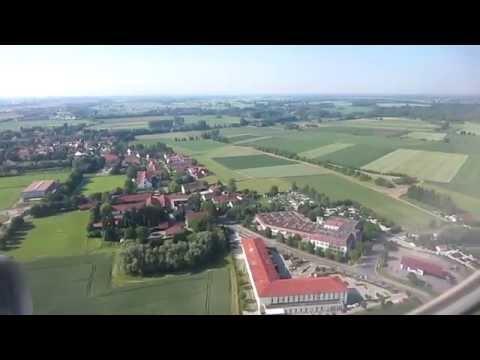 HD - Aterrizaje / Approach and landing - Munich aeropuerto / München airport