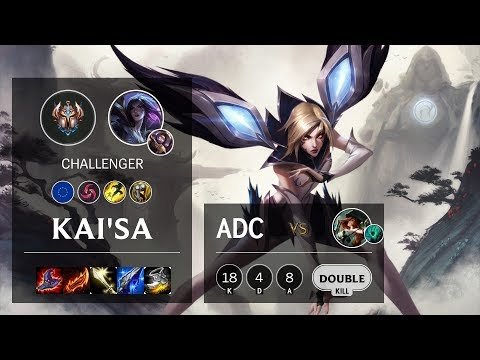 Kai'Sa ADC Vs Miss Fortune - EUW Challenger Patch 10.9