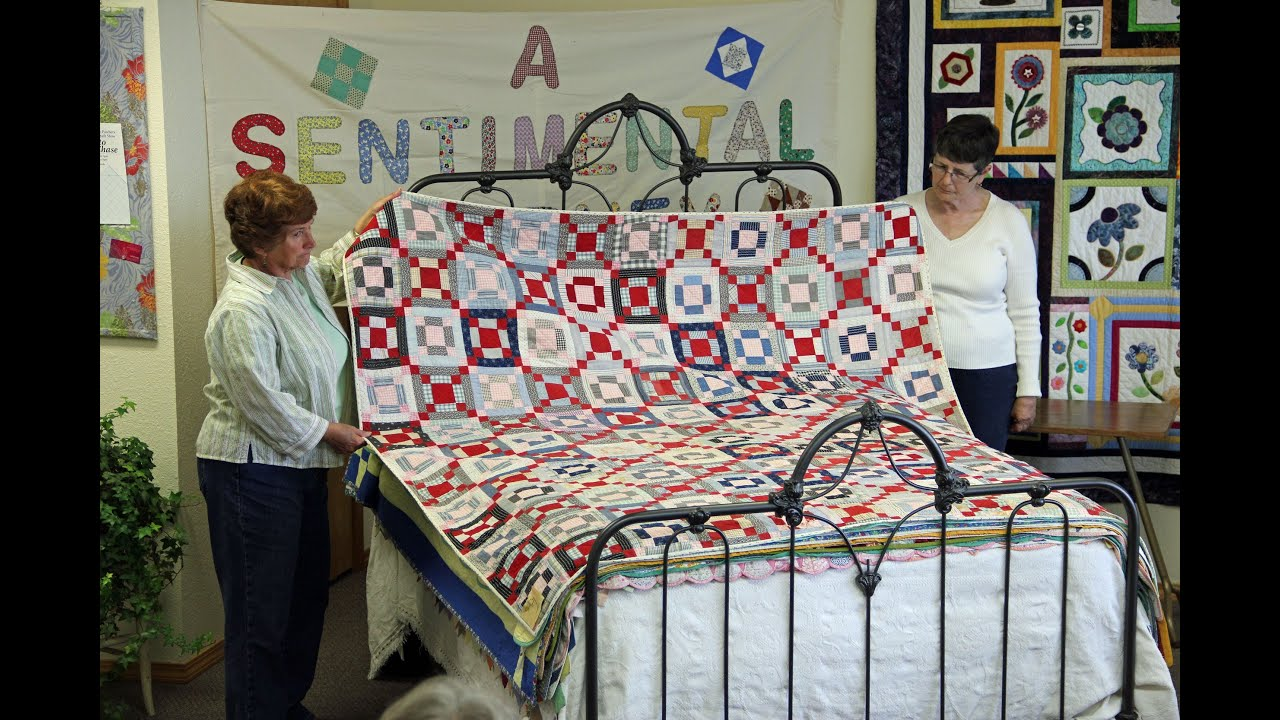 Antique Quilt Bed Turning Youtube