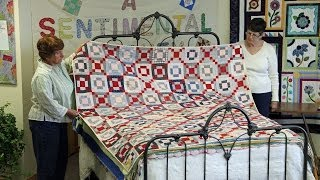 Antique Quilt Bed Turning
