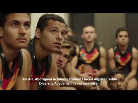 Aboriginal Academy play on Adelaide Oval