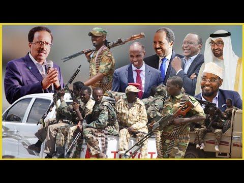DEG DEG Farmaajo oo Difaac Ka Xirtay Villa Somalia & Hanjaabad Culus, Shirarka Mucaaradka Xiisad+Xog