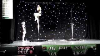 Lauren and Sam's Double Routine All Wales Pole Dance Competition