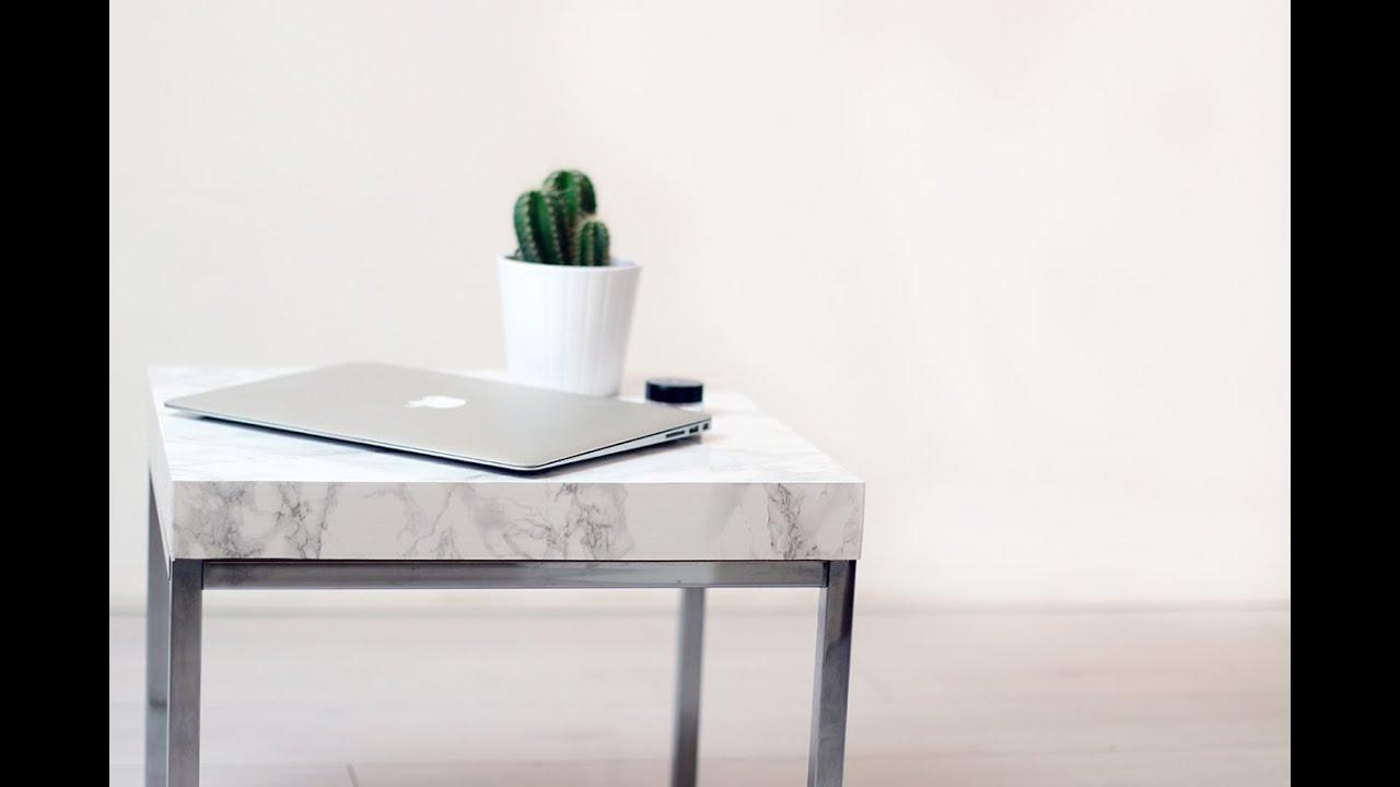 Ikea eettafel blad diy marble table youtube