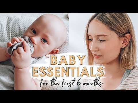 BABY ESSENTIALS (0-6 MONTHS!) | Day In The Life + Econaps Cloth Nappies Review