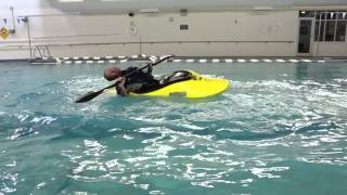 learn how to bąck deck roll a kayak