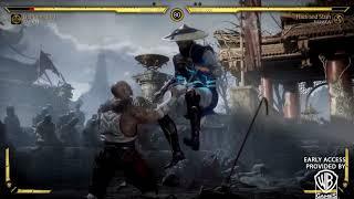 Mortal Kombat 11  Raiden Blue lightning gameplay