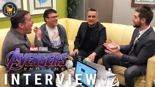 Joe And Anthony Russo On Avengers: Endgame Spoilers And More