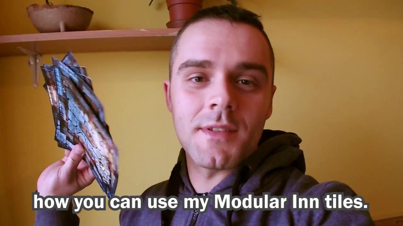 modular inn printable tabletop rpg tiles youtube