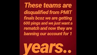PMIT PUNE SCAM | THEY BAN 15 TEAMS FOR 1 YEAR 😱😱 |