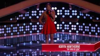 The Voice USA - Koryn Hawthorne ( My Kind of Love)