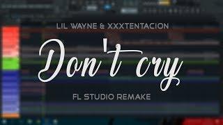 Lil Wayne & Xxxtentacion - Don't cry (Instrumental) + FLP