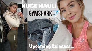 HUGE GYMSHARK HAUL/ TRY ON  NEW RELEASES  Sophie Aris