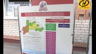 Рабочая поездка Президента по Могилёвской области