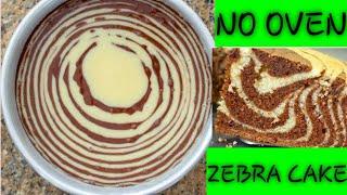 ZEBRA CAKE USING A SUFURIA AND A GAS (Maria&#39s Tasty Recipes)