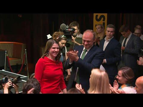 UK: Jo Swinson elected Lib Dem Leader | AFP