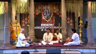 S.Varadarajan Violin Solo. Swathi Sangeethotsavam 2014, Kuthiramalika. Saveri. thumbnail