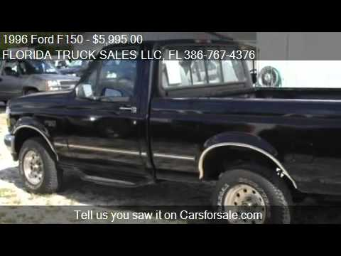 1996 Ford F150 Xl Reg Cab Short Bed 4wd For Sale In