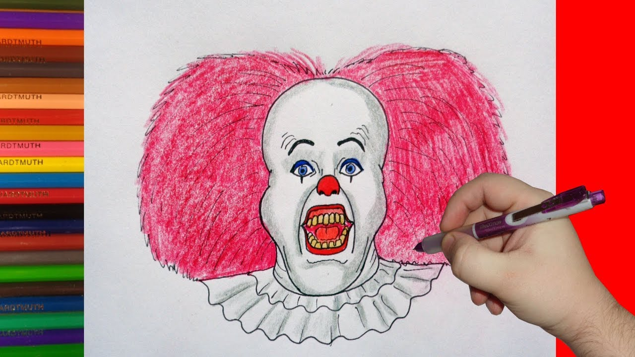 how to draw pennywise easy