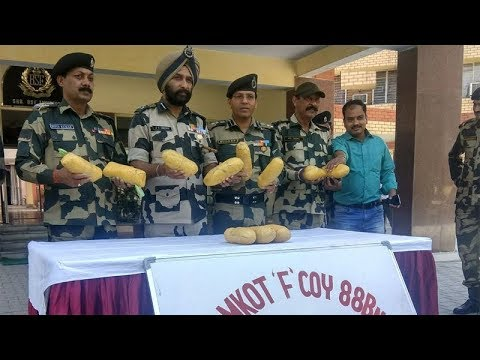 BSF seizes 11-kg contraband drug near Pakistan border