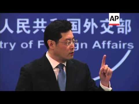 Foreign affairs spokesman defends China's plans to increase military spending