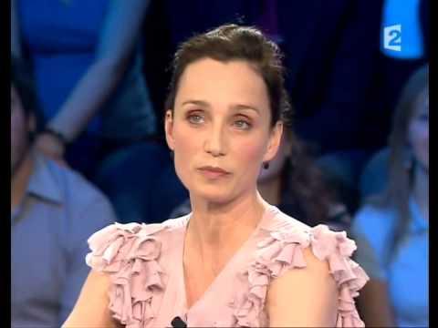 Kristin Scott Thomas - On n'est pas couché 15 mars 2008 #ONPC