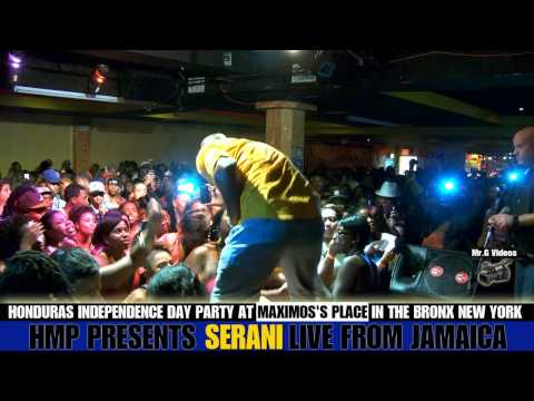 Jamaican Artist SERANI Doing His Thing In The Bronx New York At Maximos Place